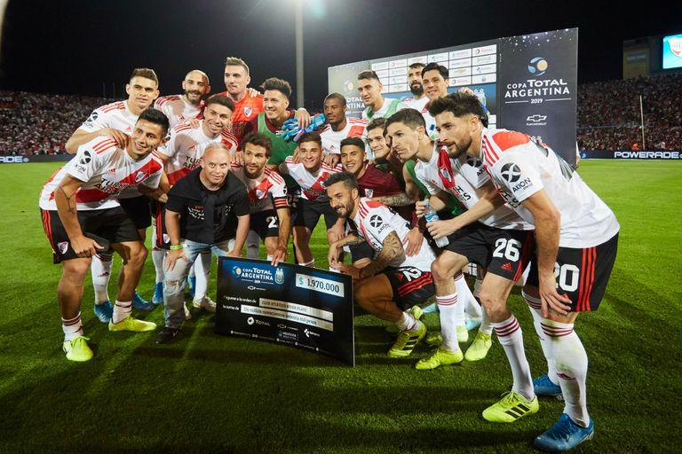 River ganó este viernes su tercera Copa Argentina