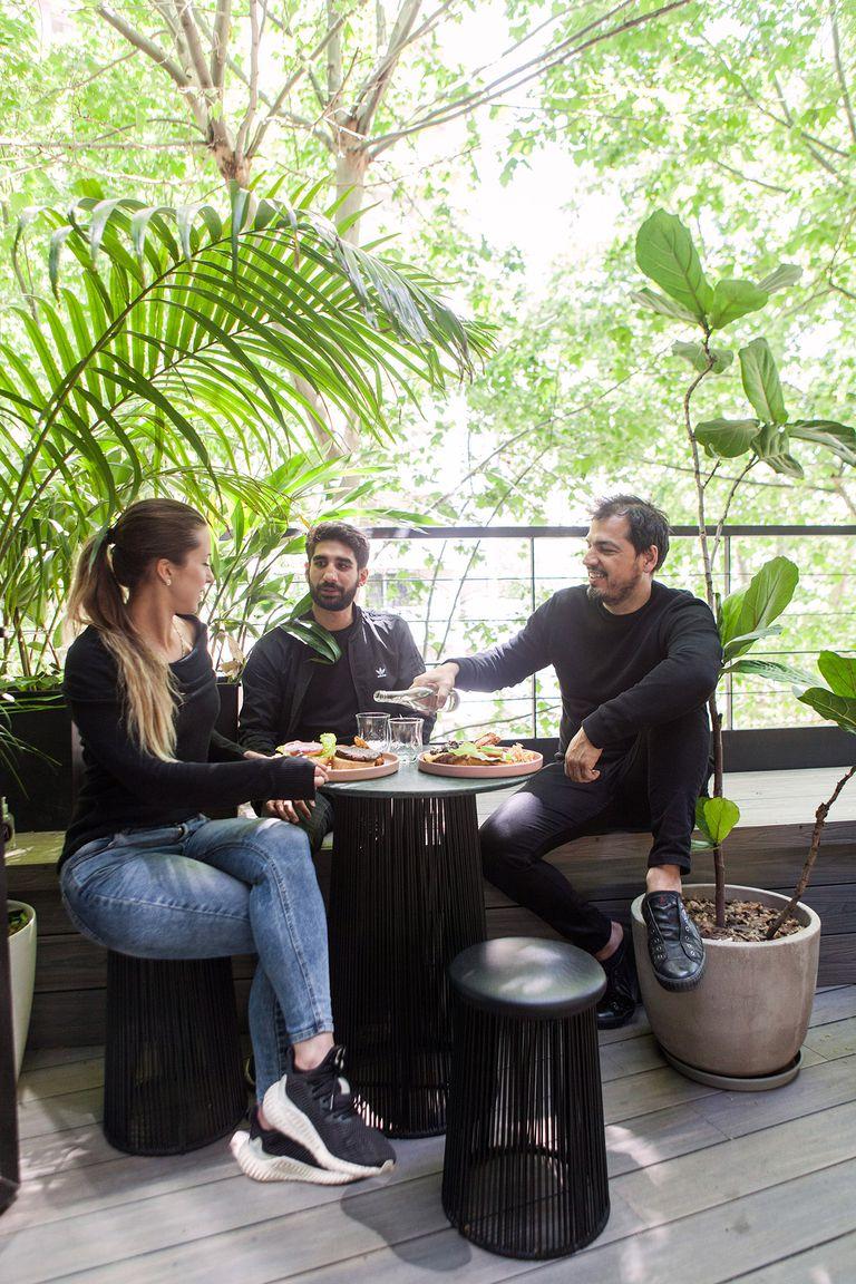 El menú de Mudrá es accesible y con productos orgánicos.