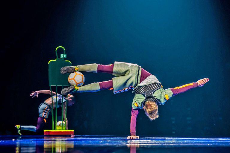 A 35 años de su creación, Cirque du Soleil presentó el espectáculo dedicado a Lionel Messi