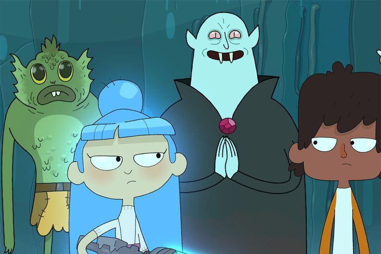 Los monstruos acechan, pero Charlie y Pierce no les temen.