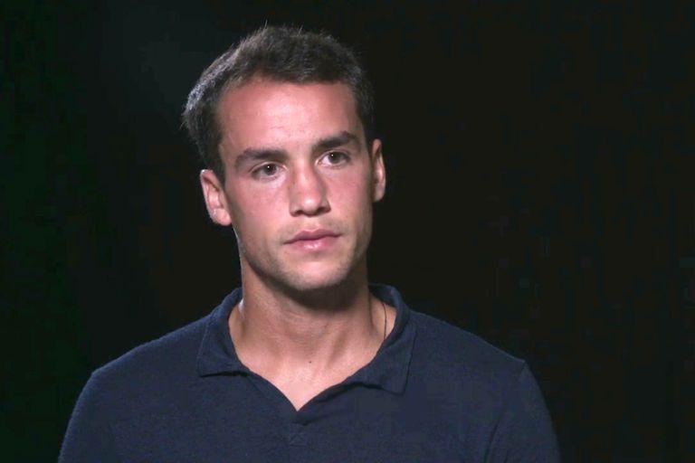 Kicker en el video que realizó con la TIU, reconociendo su culpabilidad por arreglo de partidos.