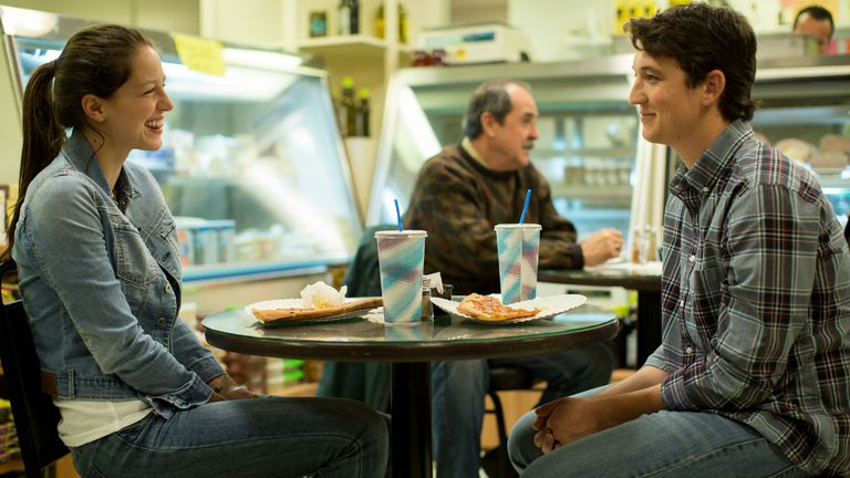Con Miles Teller en Whiplash, la película nominada al Oscar de Damien Chazelle