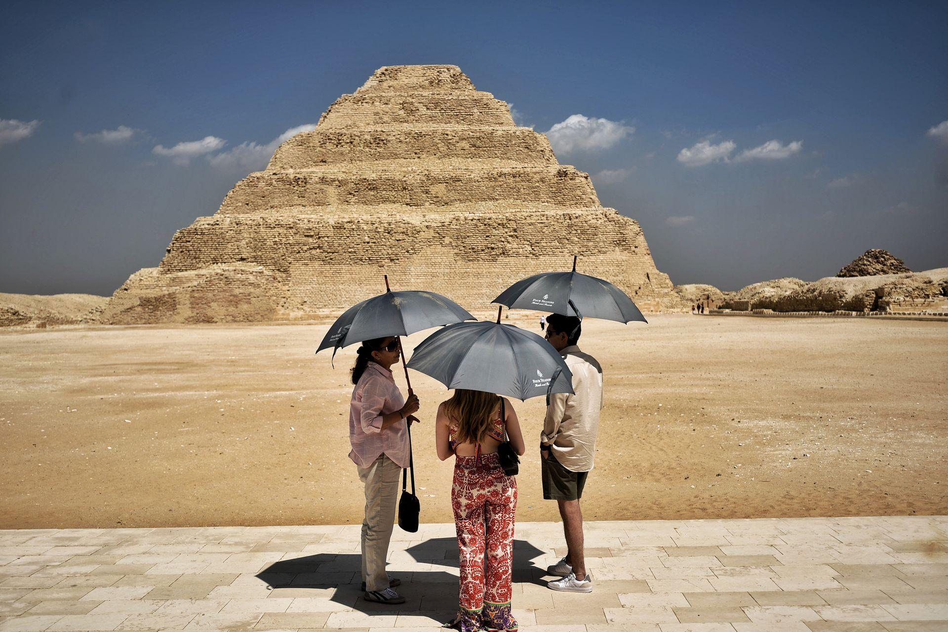 Se cree que está pirámide es el edificio de piedra más antiguo del mundo