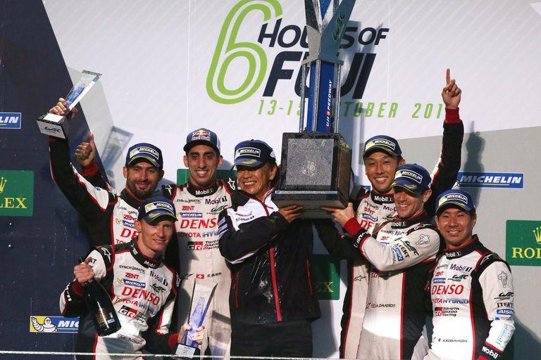 El 1-2 de Toyota en las 6 Horas de Fuji
