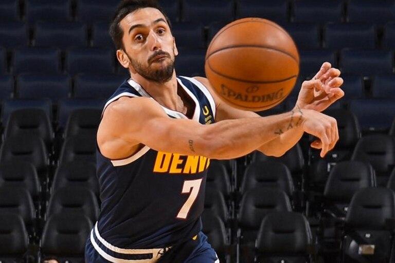 Facundo Campazzo cumplió su sueño de jugar en la NBA