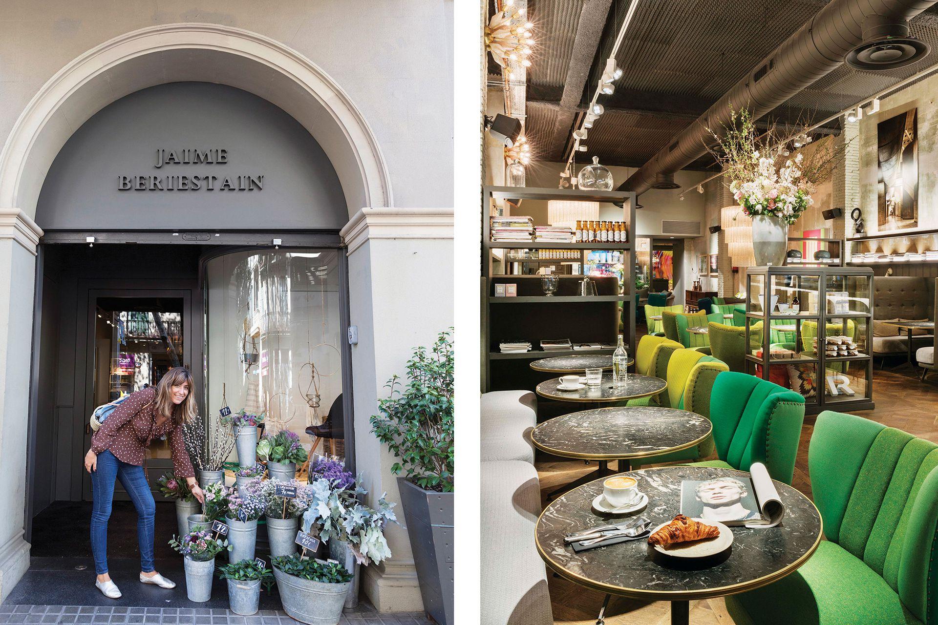 El espacio de Jaime Beriestain tiene una florería que brinda cursos y talleres.