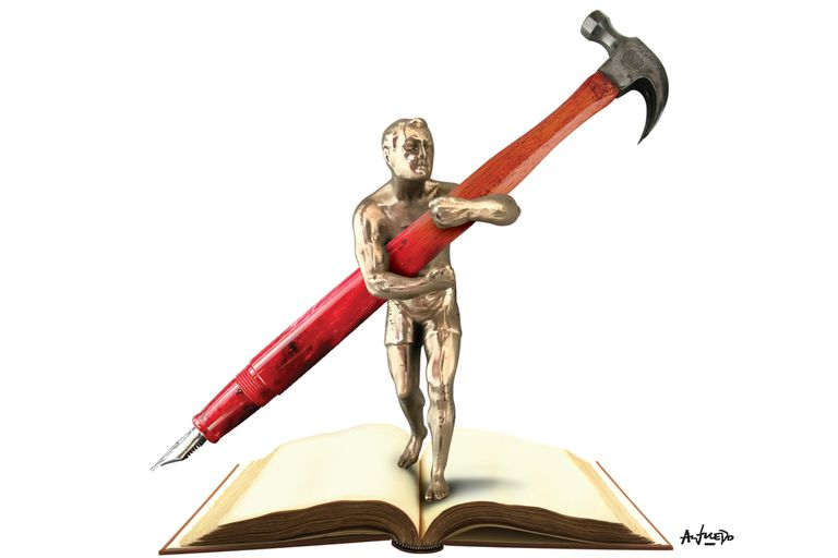La buena literatura es siempre subversiva y una eficaz arma de combate