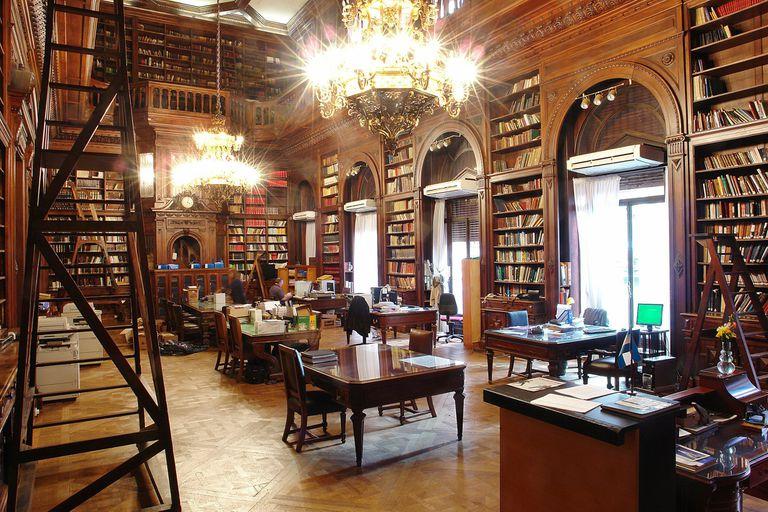 La biblioteca de la Legislatura porteña, vista por Daniel Kiblinsky
