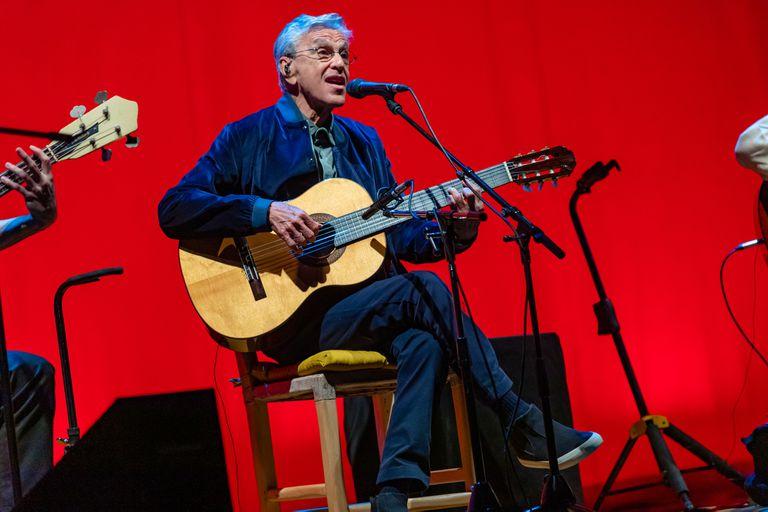 Caetano Veloso, en el Gran Rex