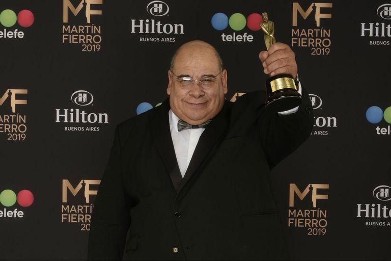 Roly Serrano, mejor actor de reparto por El marginal 2