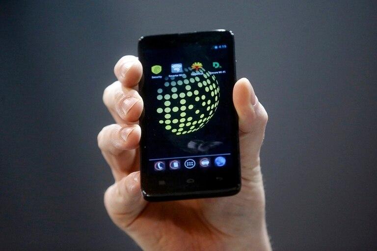 Blackphone, el teléfono de Silent Circle, una firma fundada por Phil Zimmermann, el creador de la herramienta de cifrado de datos PGP