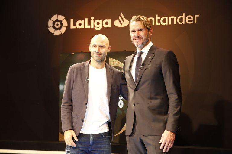 Embajador de LaLiga. Mascherano: el futuro de Messi y una promesa argentina