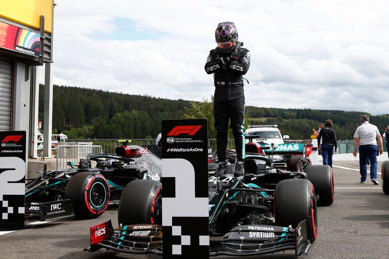Lewis Hamilton homenajeó a Chadwick Boseman, que falleció a los 43 años a causa de un cáncer de colon.