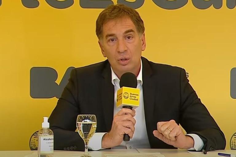 """El vicejefe de Gobierno porteño, Diego Santilli, aseguró: """"El objetivo de la Ciudad es volver a empezar las clases el 17 de febrero de este año"""""""