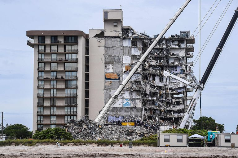 A un mes del derrumbe, el hallazgo de un arquitecto argentino que se hizo viral