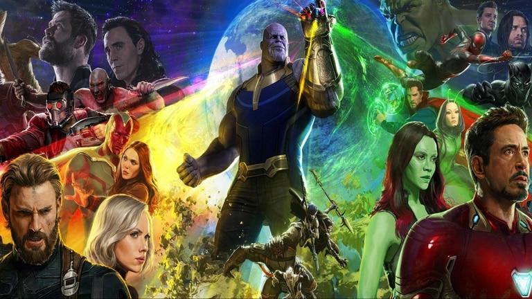 Todos los héroes de Marvel se reunirán para detener al villano galáctico Thanos, en el film