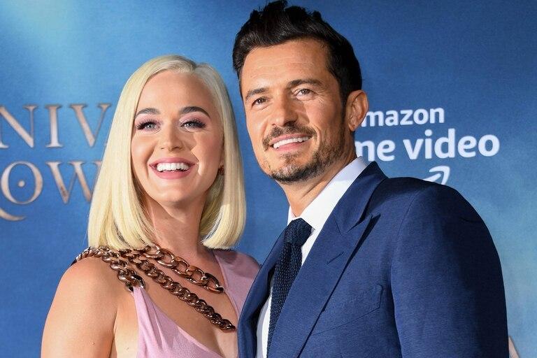 Katy y Orlando querían casarse antes del nacimiento de su hija, pero debieron postergar los planes