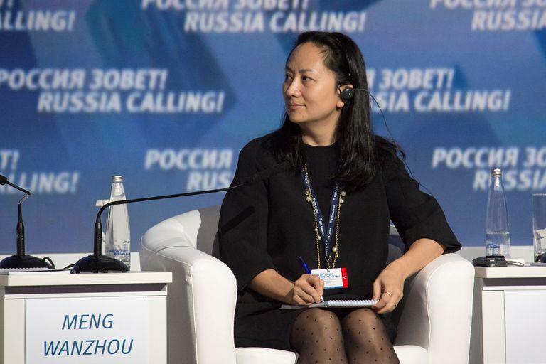 Meng Wanzhou, en un foro sobre inversiones en Moscú