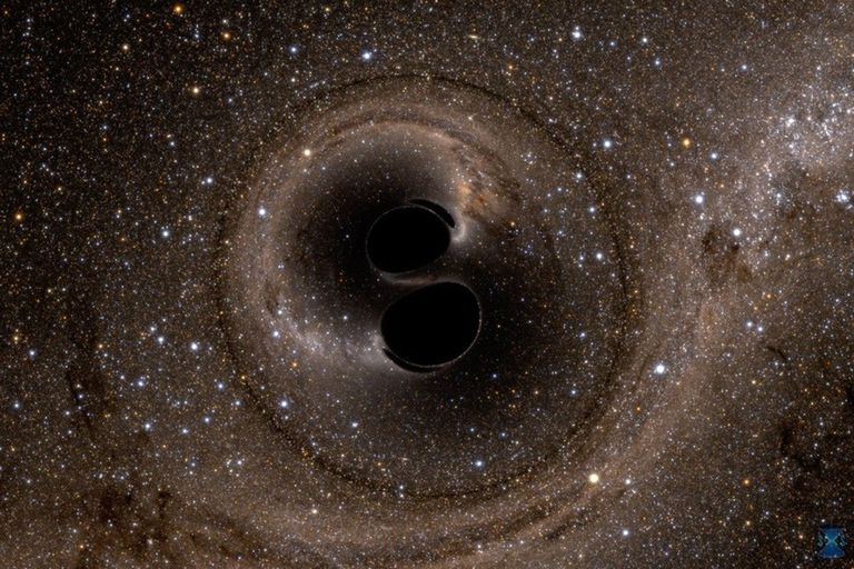 Los físicos del MIT y otros lugares han utilizado ondas gravitacionales para confirmar observacionalmente el teorema del área del agujero negro de Hawking por primera vez