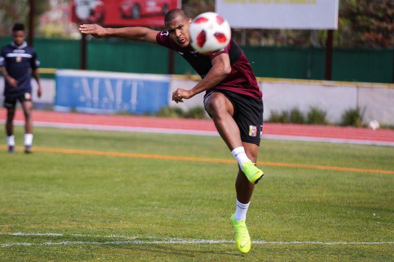 Rondón es la figura de la selección de Venezuela.