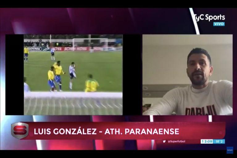 En TV: la anécdota de Lucho González antes de un Argentina-Brasil inolvidable