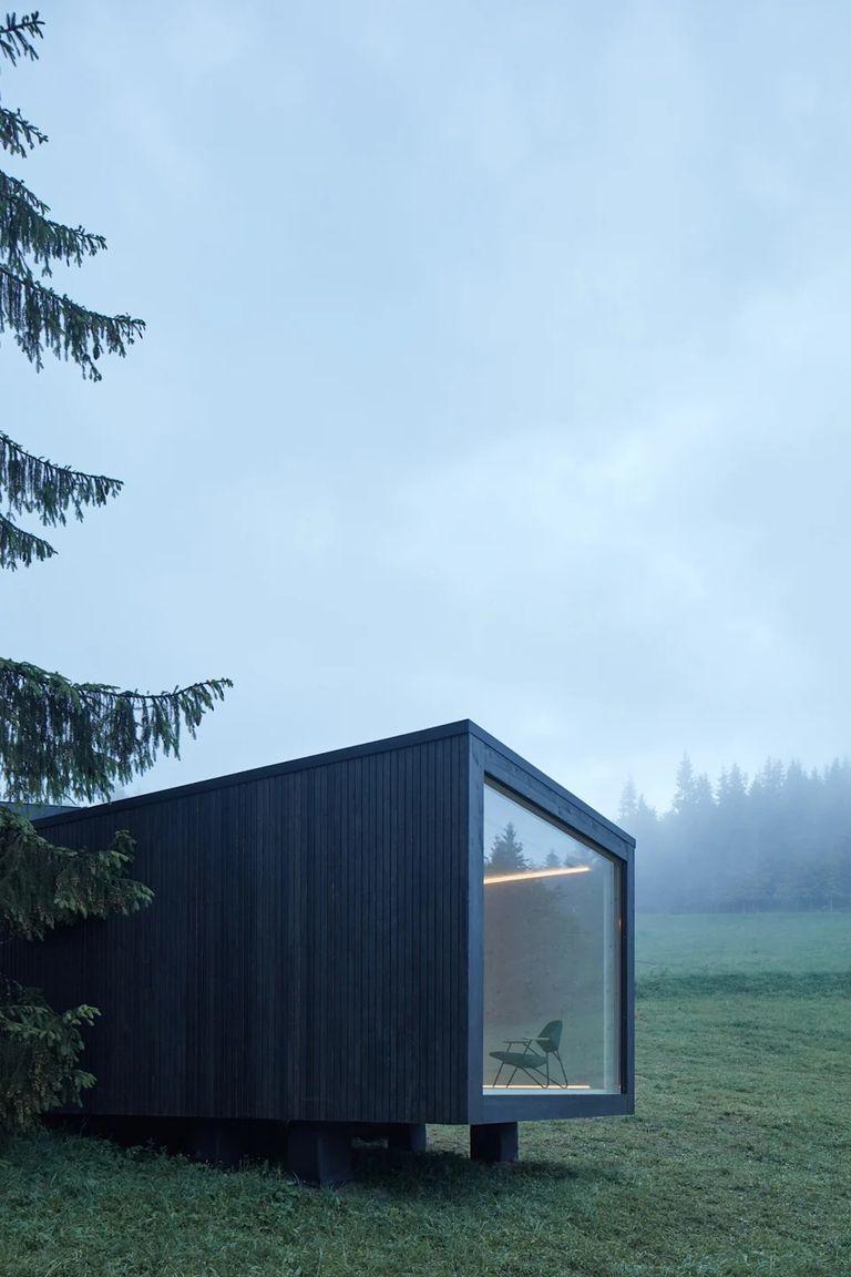 Esta casa prefabricada de 36 m2 se puede personalizar gracias a los módulos convertibles