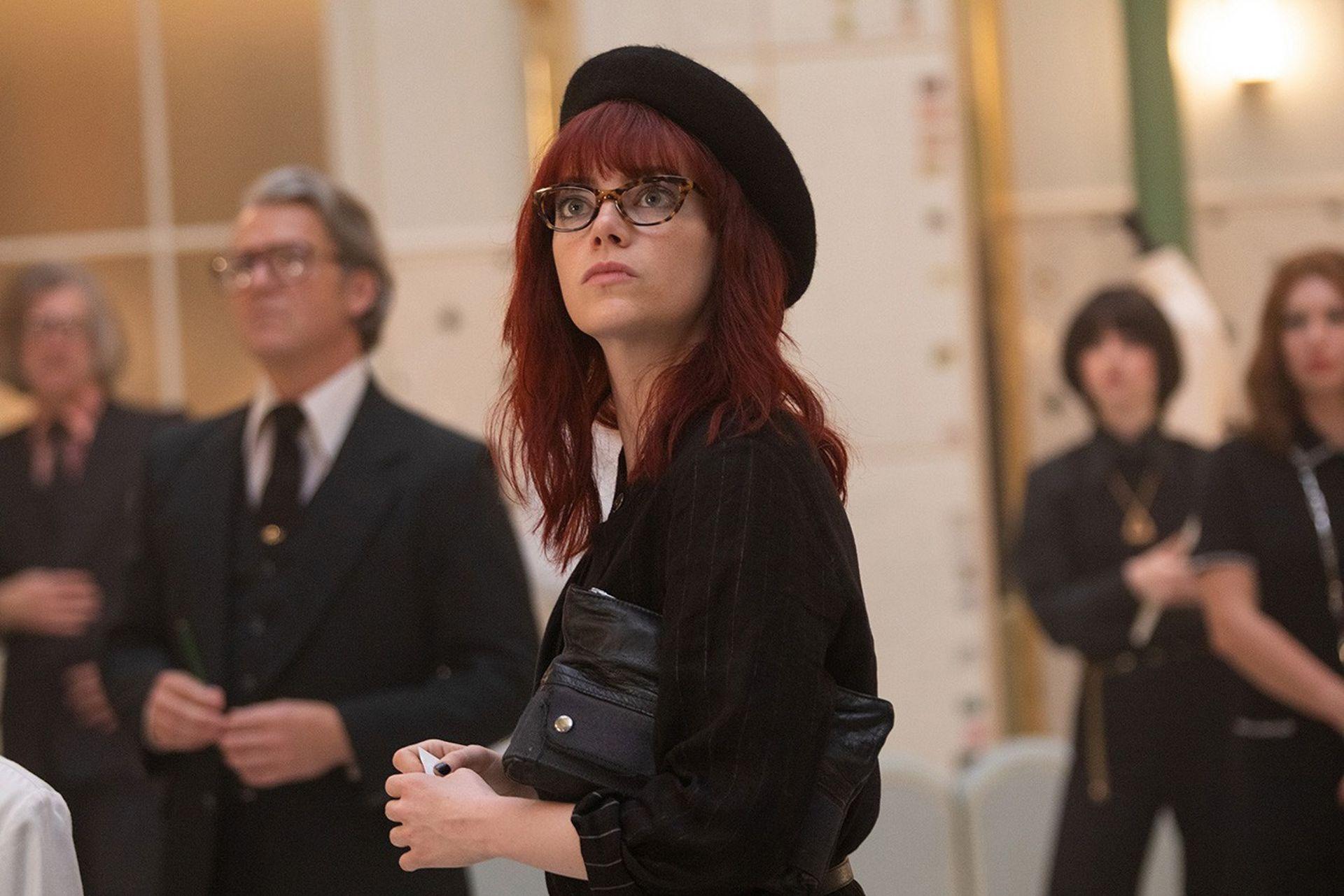 Emma Stone como Estella, antes de la conversión