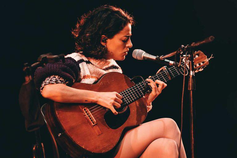 Zoe Gotusso en el festival Cosquín Rock Online del año pasado, en el Luna Park