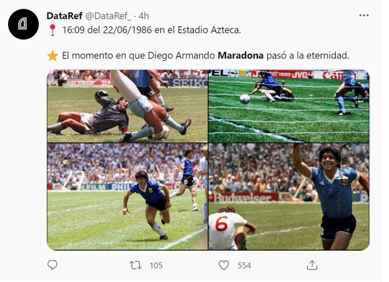Postales de la gesta de Diego Armando Maradona que ya son parte de la historia grande del fútbol argentino