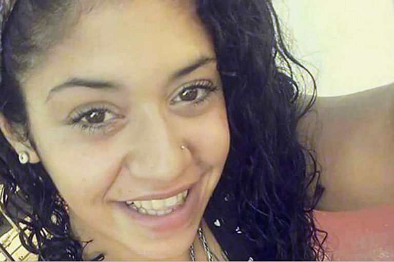 Araceli Fulles, de 22 años, fue estrangulada y luego enterrada en el patio de la vivienda de Badaracco, en José León Suárez