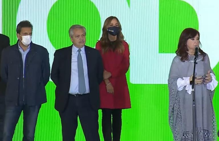 Cristina Kirchner y Alberto Fernández desnudaron su debilidad
