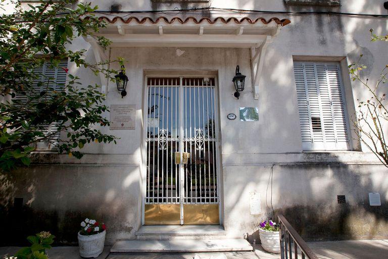 El frente del último edificio que habitó Cortázar en Buenos Aires