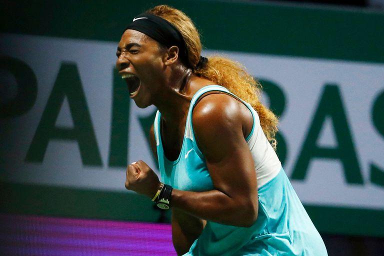 Serena tuvo su desahogo ante Bouchard