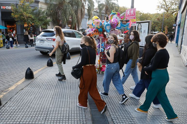Grandes y chicos disfrutaron del mediodía en Palermo Soho