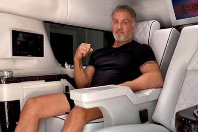 Sylvester Stallone puso a la venta su lujosa camioneta de U$S 350.000