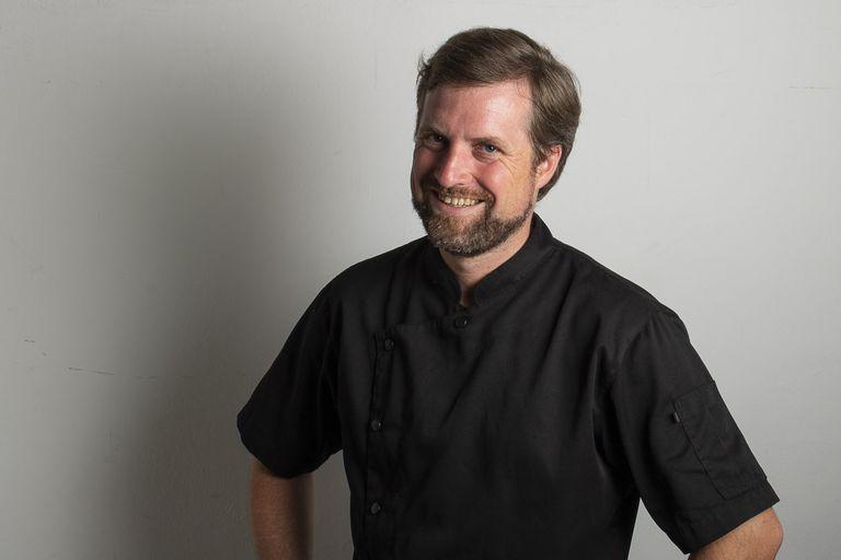 Edward Holloway, chef del restaurante Uco