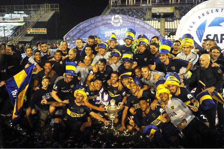 Boca campeón de la Superliga: empató en La Plata y volvió a consagrarse