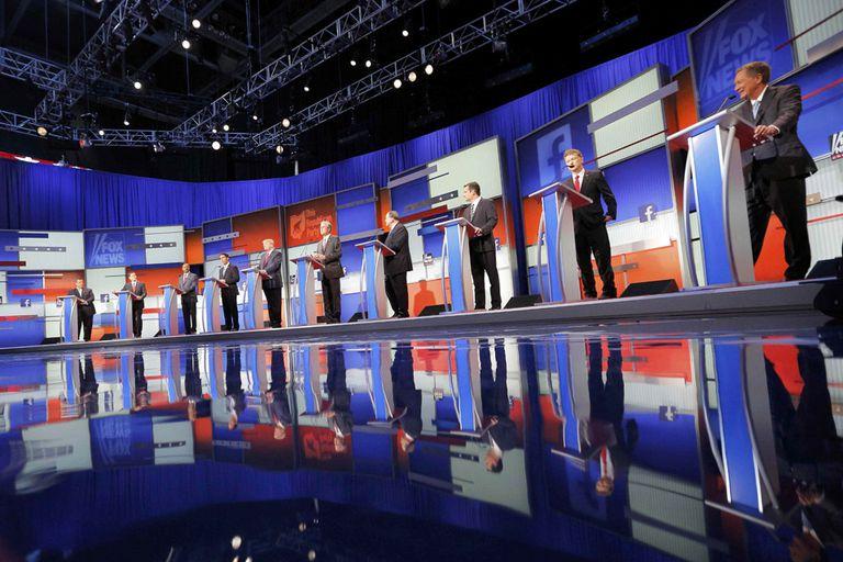 Fox News decidió invitar sólo a 10 de los 17 candidatos republicanos al debate de máxima audiencia