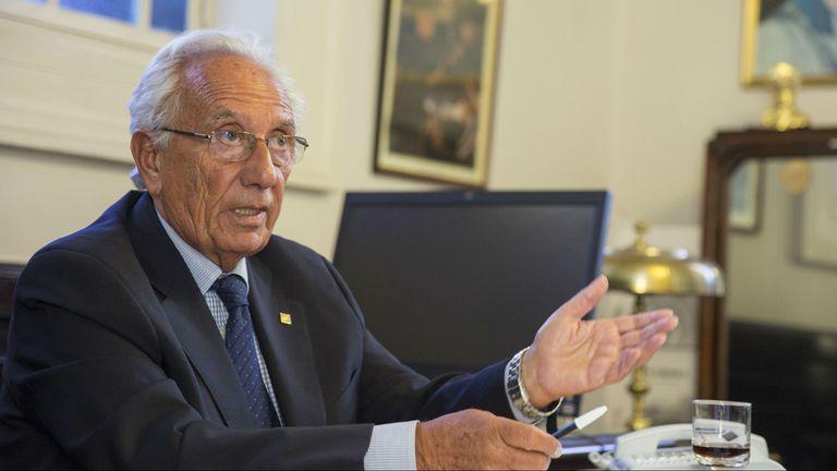El jefe del bloque de Diputados FPV-PJ, Héctor Recalde
