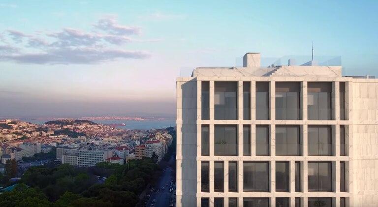 El edificio ya se convirtió en un punto de referencia de la capital portuguesa