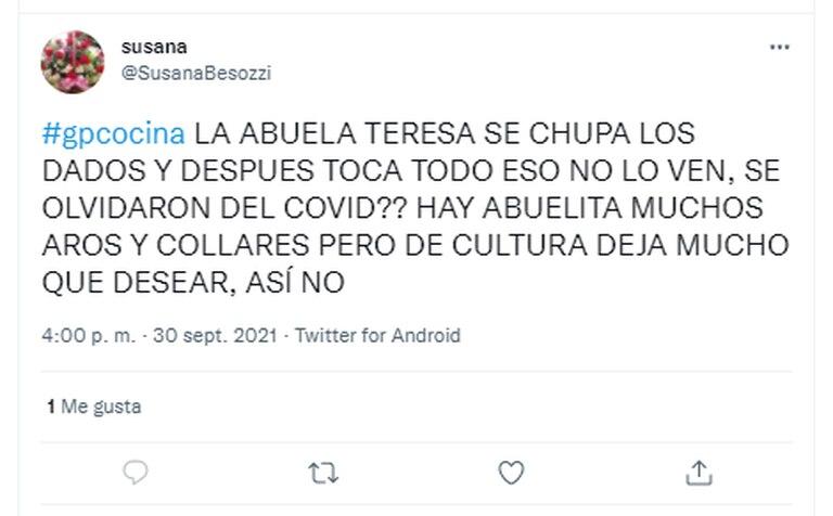 Un usuario de Twitter lanzó un mensaje muy duro contra la modelo