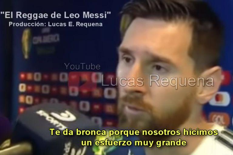 """""""El reggae de Leo Messi"""": la desopilante canción de la Copa América 2019"""