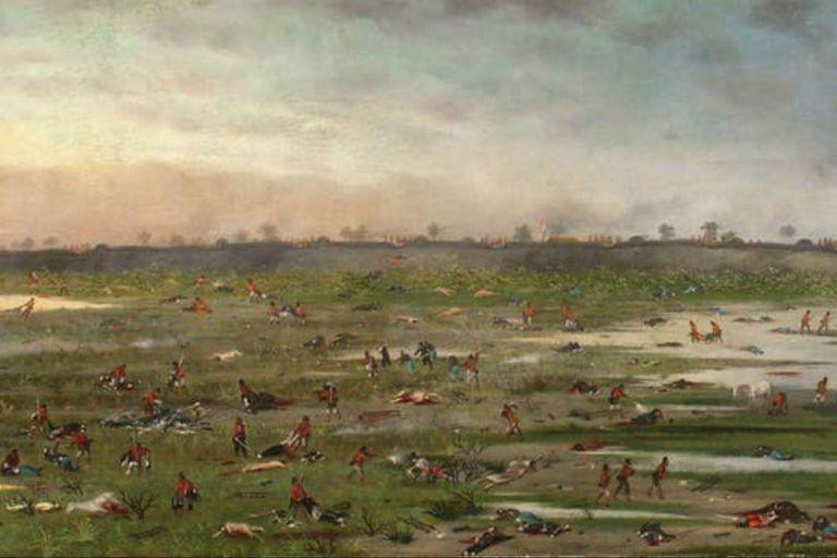 Cándido López, testigo y artista en la guerra del Paraguay