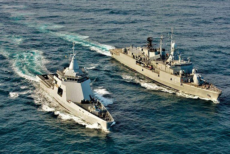 Dos buques no pueden salir del país porque el Congreso no lo autorizó