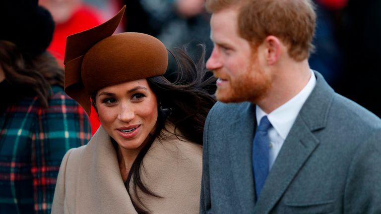 Meghan Markle pasa su primera navidad junto a la familia Real británica