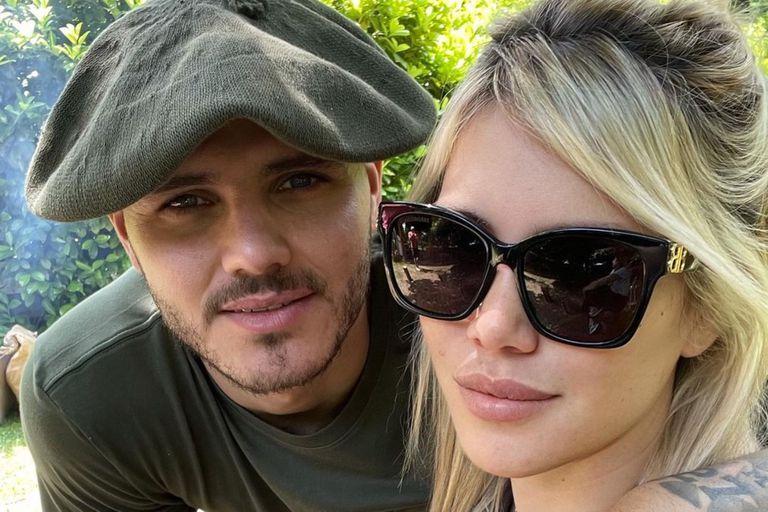 Mauro Icardi publicó una romántica foto junto a Wanda Nara que causó sorpresa