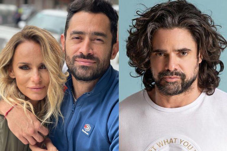 """La foto Sabrina Rojas con Luciano Castro y el """"Tucu"""" López: """"Familia ensamblada"""""""