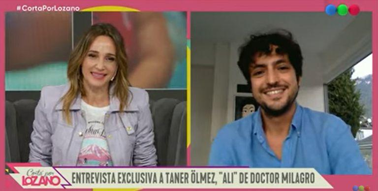 Taner Ölmez se emocionó al hablar de Dr. Milagro y agradeció las palabras en turco de Vicky Xipolitakis