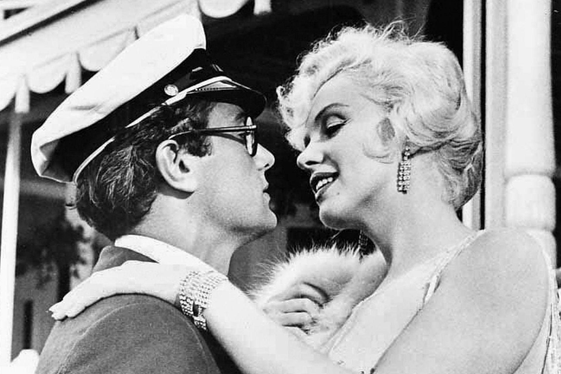 Tony Curtis y Marilyn Monroe en Una Eva y dos Adanes, película en la que no pudieron trabajar en armonía