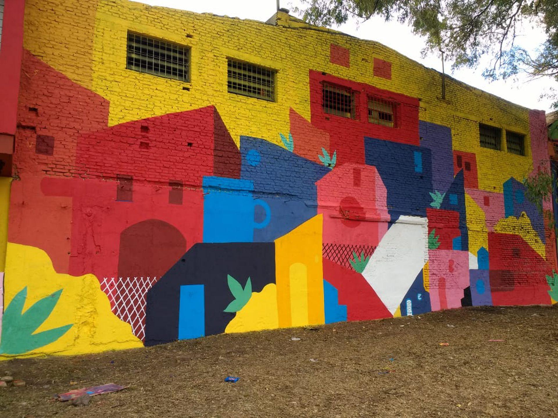 Una de las obras de Rodo Graff